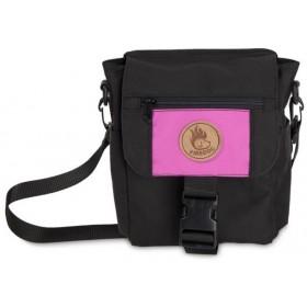 Mini-Dummytasche Deluxe von firedog schwarz-pink