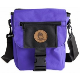 Mini-Dummytasche Deluxe von firedog violett/schwarz