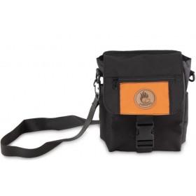 Mini-Dummytasche Deluxe von firedog schwarz-orange