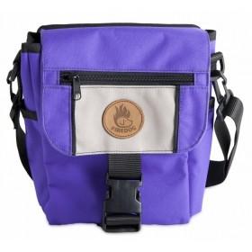 Mini-Dummytasche Deluxe von firedog violett-beige
