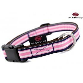 Hundehalsband Polo pink von SUCHtrupp
