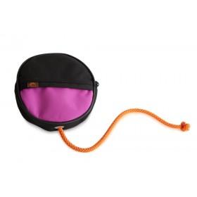 Futterdummy Snack Disc pink-schwarz von firedog