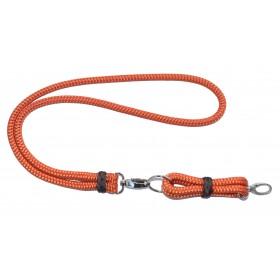 Schlüsselanhänger-Set aus Tau orange-braun