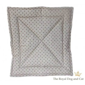 Quilt/Decke Dotty taupe-mocca