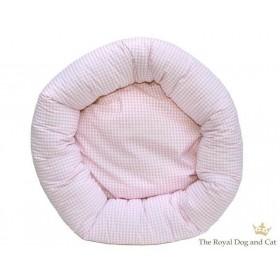 Hundebett rund Vicky rosa