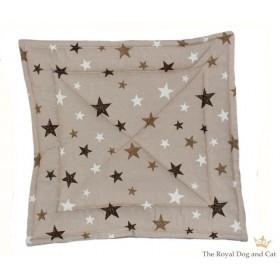 Quilt/Decke Sternenhimmel braun