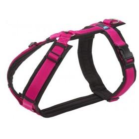 Brustgeschirr FUN von anny x schwarz-pink