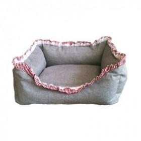 Handgefertigtes Hundebett Gretl von Hundeliebe
