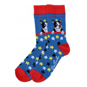 "Socken ""Frenchie Star"""