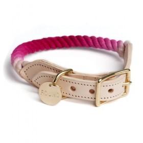 Tau-Halsband in magenta von FOUND MY ANIMAL