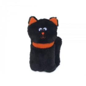 Halloween-Katze mit Quietschie