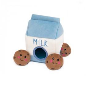 Hunde-Puzzle  Milch & Kekse