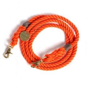 Tau-Leine orange von FOUND MY ANIMAL