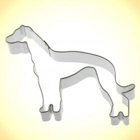 Ausstechform Windhund