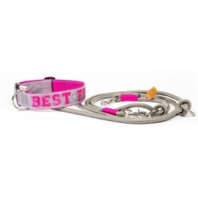 "Halsband ""Best Friend"" pink..."