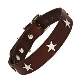 Leder-Halsband S Stars von...