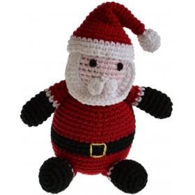 Handgehäkelter Weihnachtsmann von Pepper's Choice