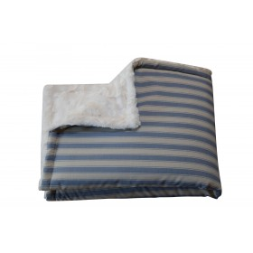 Decke Sylt blau  /...