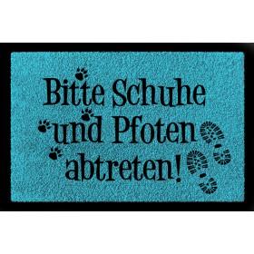 """Fussmatte """"Schuhe und..."""