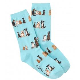 "Socken ""Sitting Dogs"""