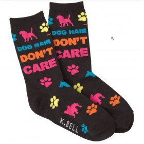 """Socken """"Dog Hair - Don't Care"""""""