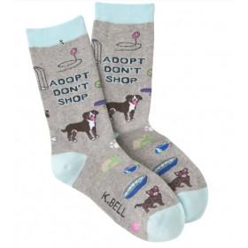 """Socken """"Adopt Don't Shop"""""""