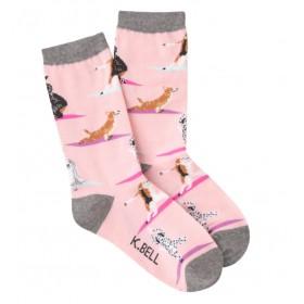 "Socken ""Yoga Dogs"""