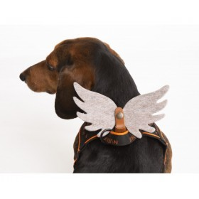 Engels-Flügel aus Filz