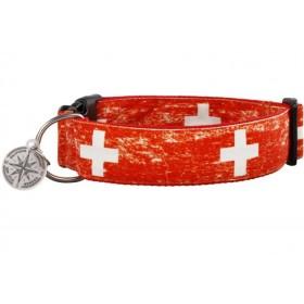 """Halsband """"Mounty rot"""" aus..."""
