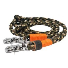 Tau-Leine camouflage-orange...
