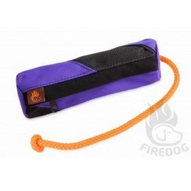 Futterdummy violett/schwarz von firedog