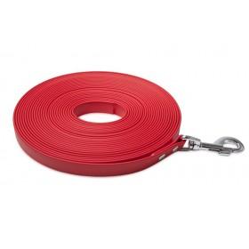 BioThane-Leine rot von Firedog