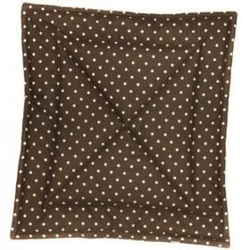 Quilt/Decke Dotty braun