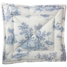 Quilt/Decke Chateau blau