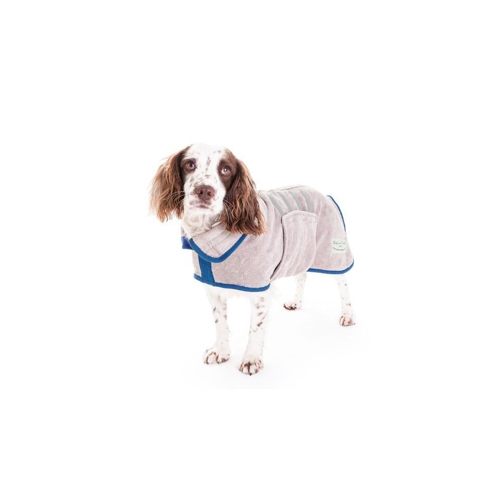 Hunde-Bademantel von Ruff And Tumble nerzfarben